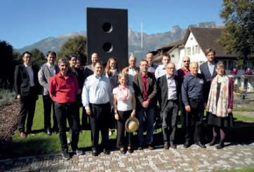 Gruppenbild der TeilnehmerInnen der Liechtensteiner-Tagung
